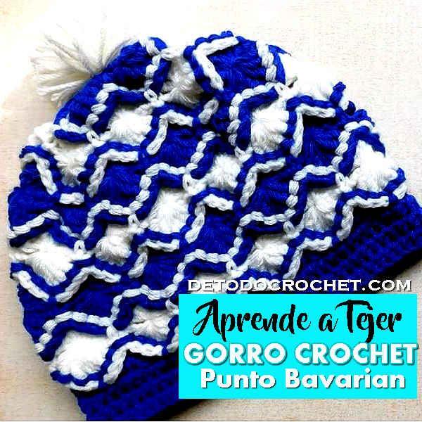 Excepcional Patrón De Crochet Sombrero De La Barba Libre Molde ...