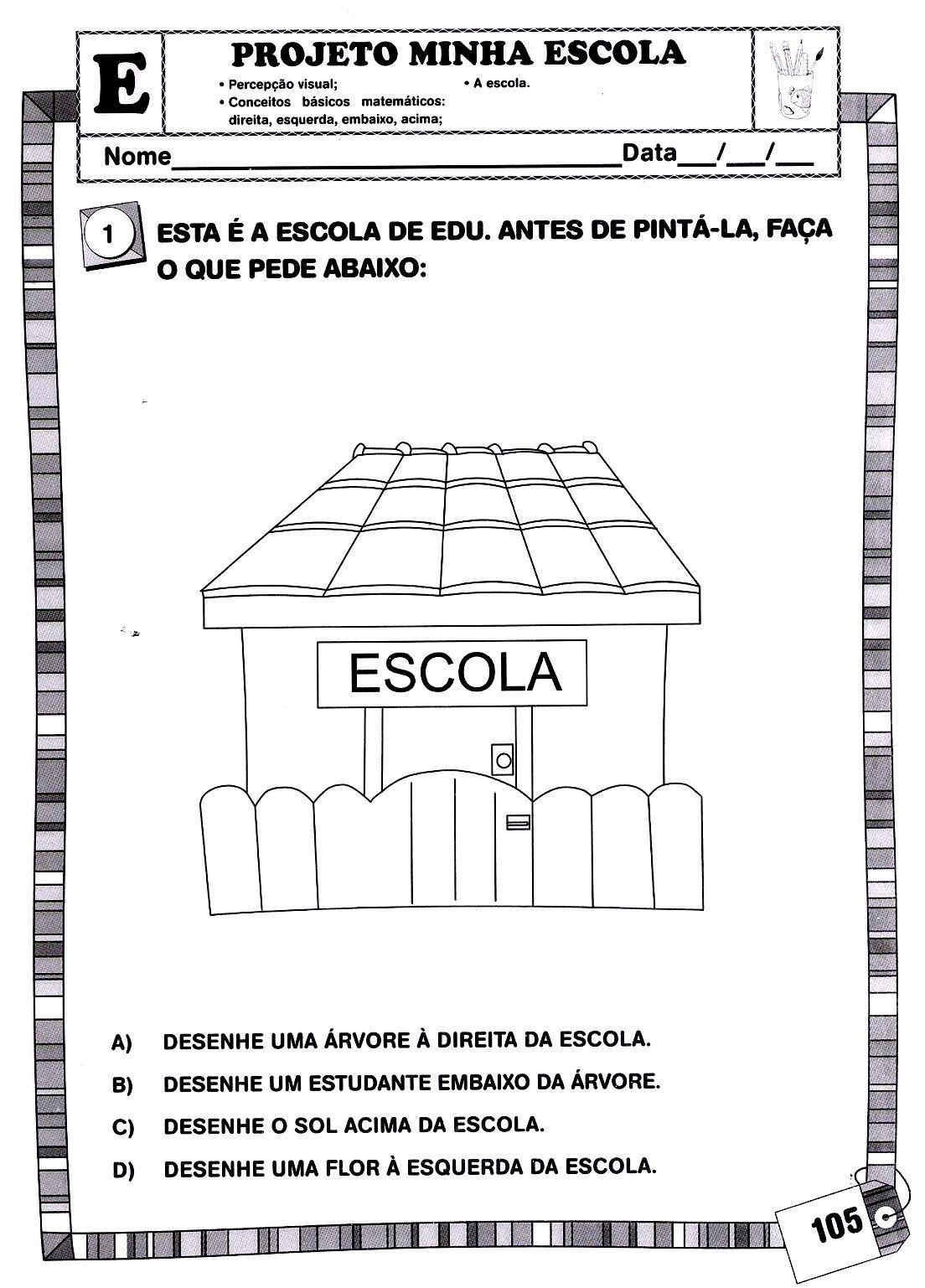 Pin De Impacto Kids Em Infantil I Escola Atividades E