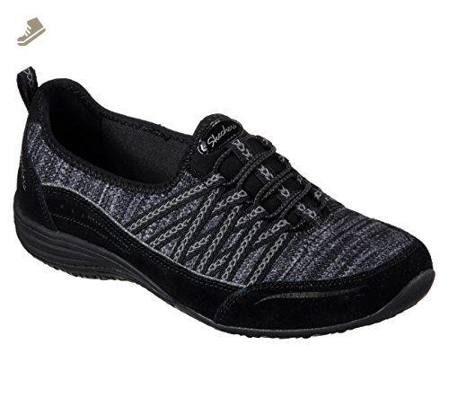Skechers Dynamight Womens Slip On Sneakers Schwarz 6 Cw8vqK