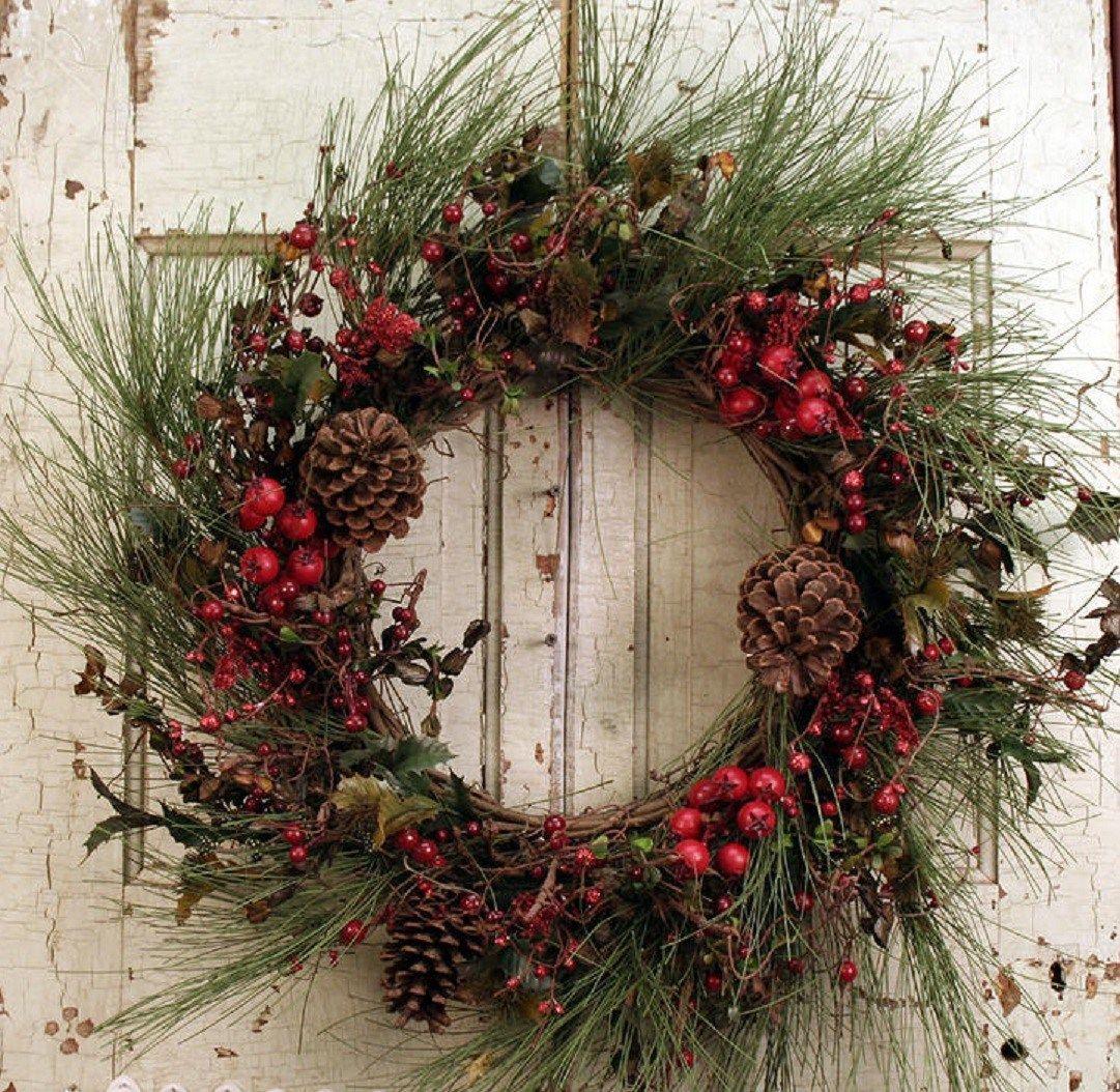 15 Christmas Wreath Ideas 15 Christmas Wreath