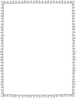 95 Fall Coloring Page Borders