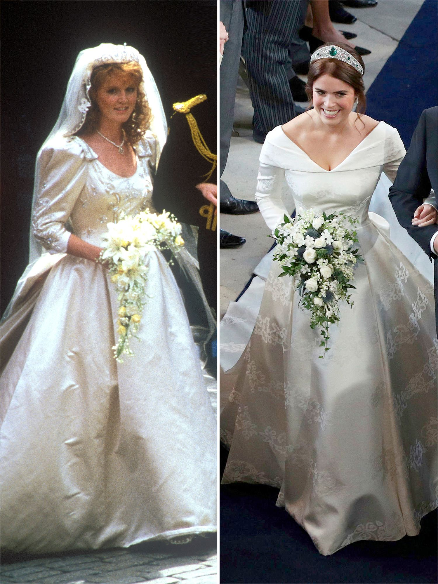 No Puffy Sleeves Here! Comparing Princess Eugenie's