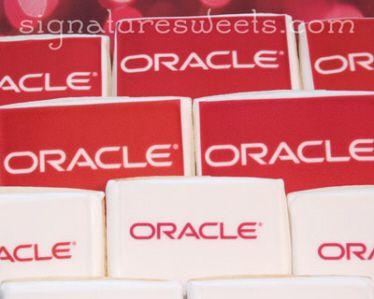Oracle, inc. Photo/Logo Cookies