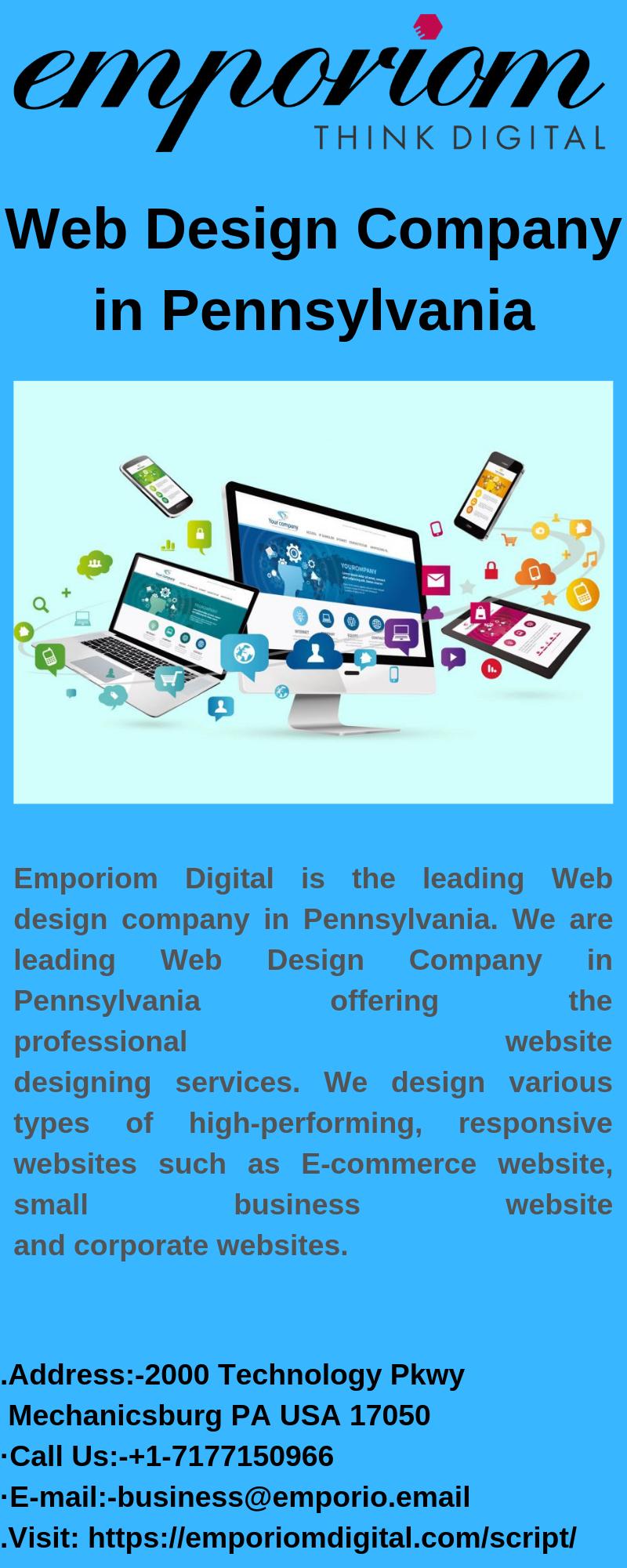 Web Design Company In Pennsylvania Emporiomdigital Web Design Company Interactive Advertising Web Design