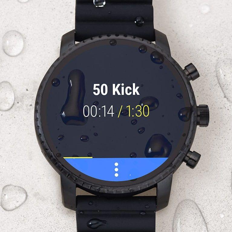 Gen 4 Smartwatch Explorist Hr Black Leather Smart Watch Rose Gold Apple Watch Favorite Things Gift
