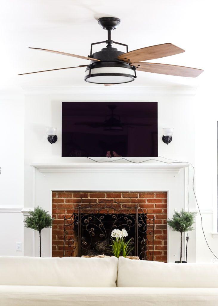 Living Room Update: Ceiling Fan Swap | Caneel bay and Industrial ...