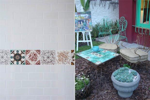 the white tiles and the line patchwork| Weblog Mi Espacio | ESPACIO LIVING