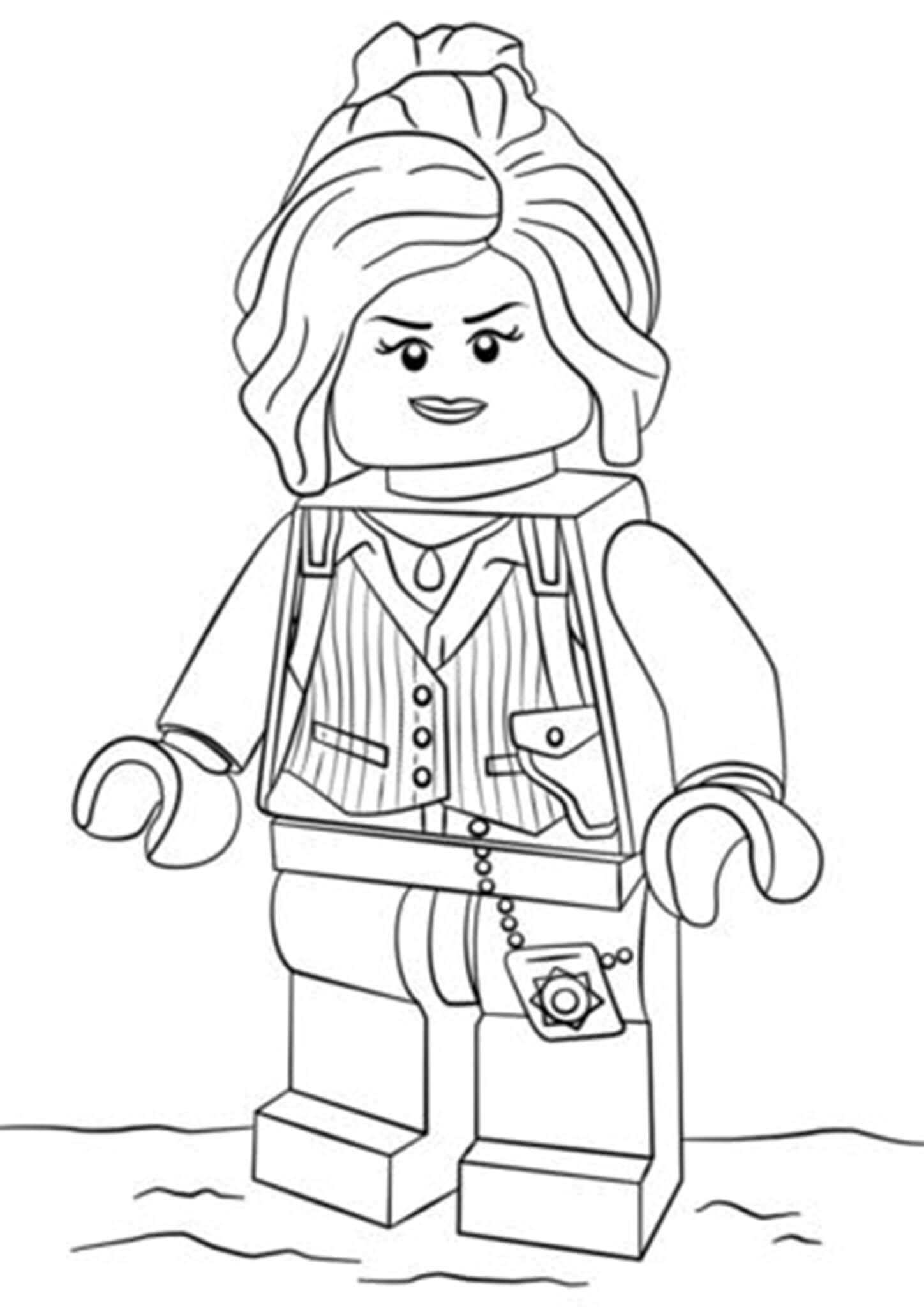 Free & Easy To Print Lego Batman Coloring Pages  Batman coloring