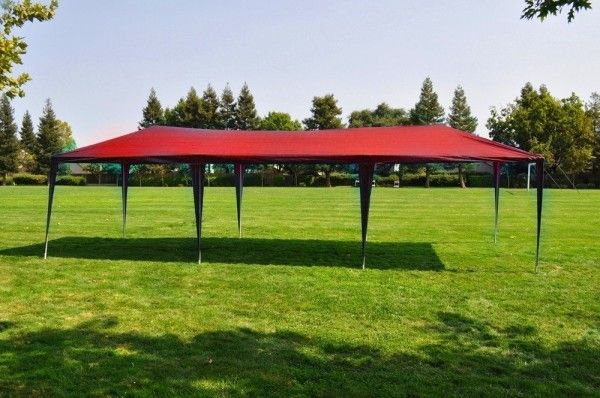 Another EPIC list brought to you by the Kingpin 18 Great Party Tents For Sale Online! Host your next outdoor party event. & 10×30 Red Canopy Gazebo BBQ Tent u2013 $144.95 | 18 Great Party Tents ...