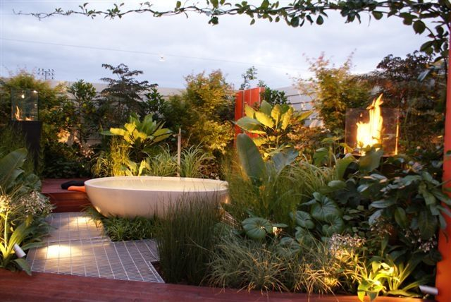 Tropical Garden Ideas Nz caroline wesseling landscapes landscape design, garden design in