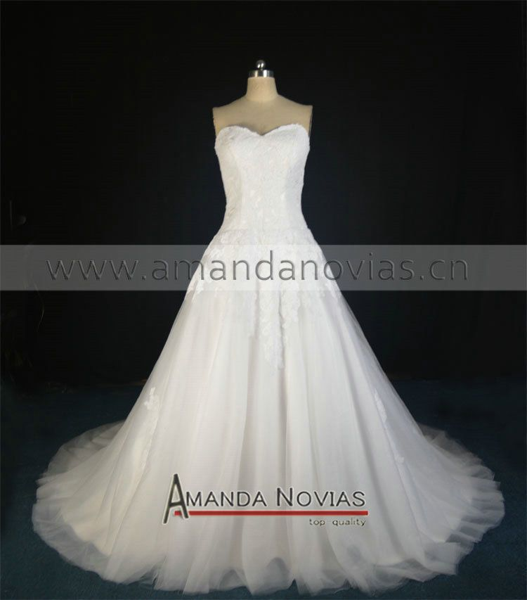 Reception Dress Would Shorten The Train Find More Wedding Dresses Information About Strapless Puffy A