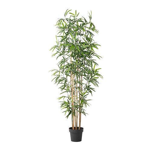 Fejka Plante Artificielle En Pot Bambou Ikea Stuff In