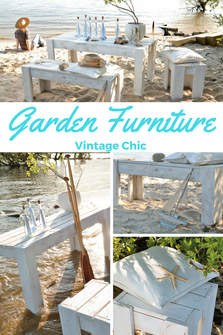 Gartenmöbel Shabby Vintage Bank Bauen Do It Yourself Tutorials Shabby Chic Garden