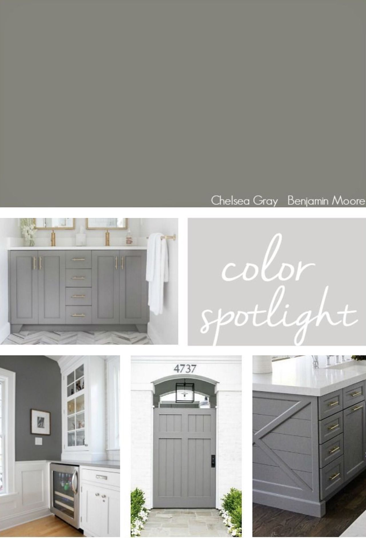 Chelsea Gray Trends Benmoore Paint Farmhouse Diy Interior Seacoast Local Exeter Epping Chelsea Gray Benjamin Moore Chelsea Gray Grey Kitchen Island