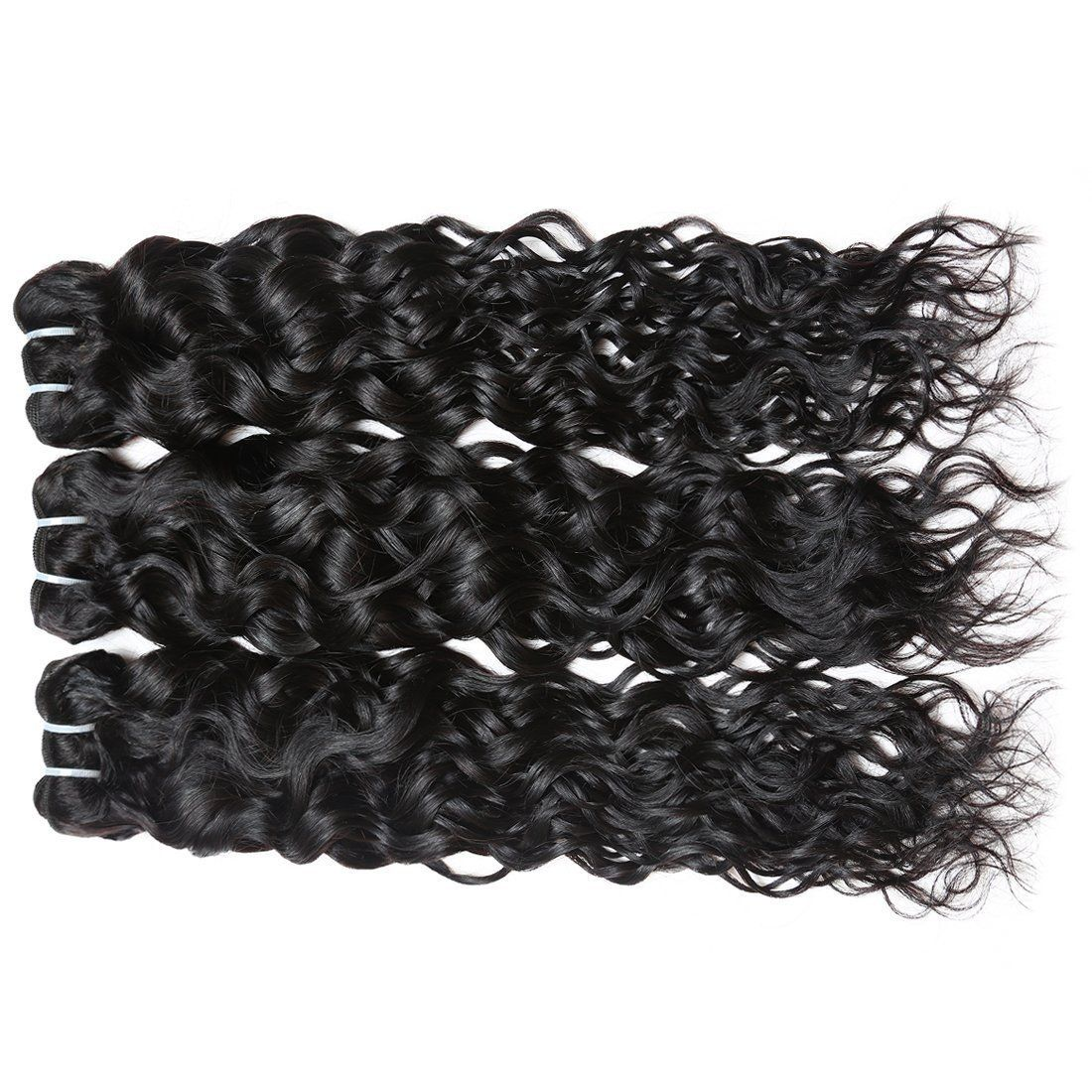 Human Virgin Hair Malaysian water wave Hair 3 Bundles 100% Unprocessed Human Hair Weave #virginhair