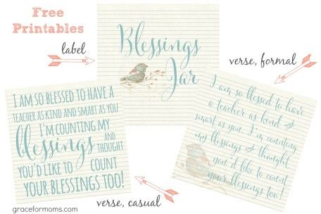 picture relating to Blessings Jar Printable known as Blessings Jar Free of charge Printables children Instructor items, Absolutely free