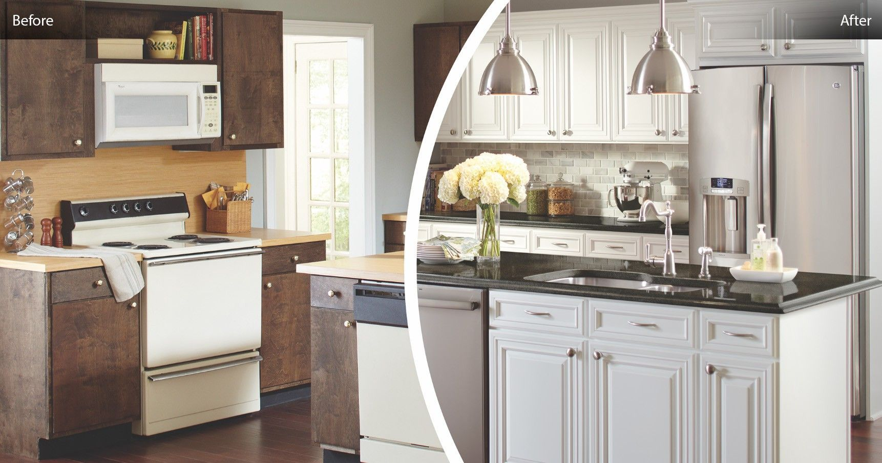 Beautiful Reface Kitchen Cabinets Before And After The Most Stylish And Also In 2020 Distressed Kitchen Cabinets Home Depot Kitchen Refacing Kitchen Cabinets