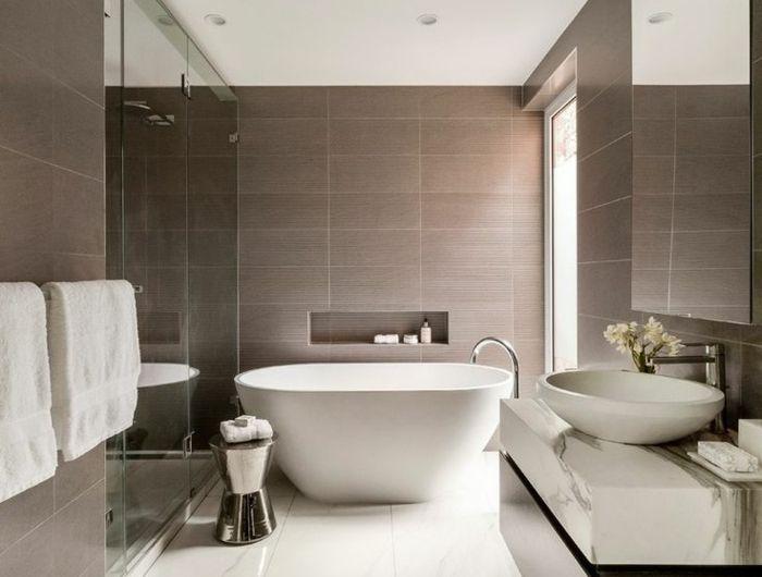 Beaucoup du0027idées en photos pour une salle de bain beige