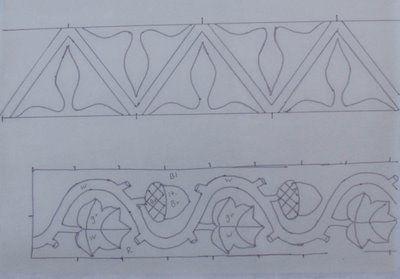 Medieval Arts & Crafts: Klosterstich cuffs