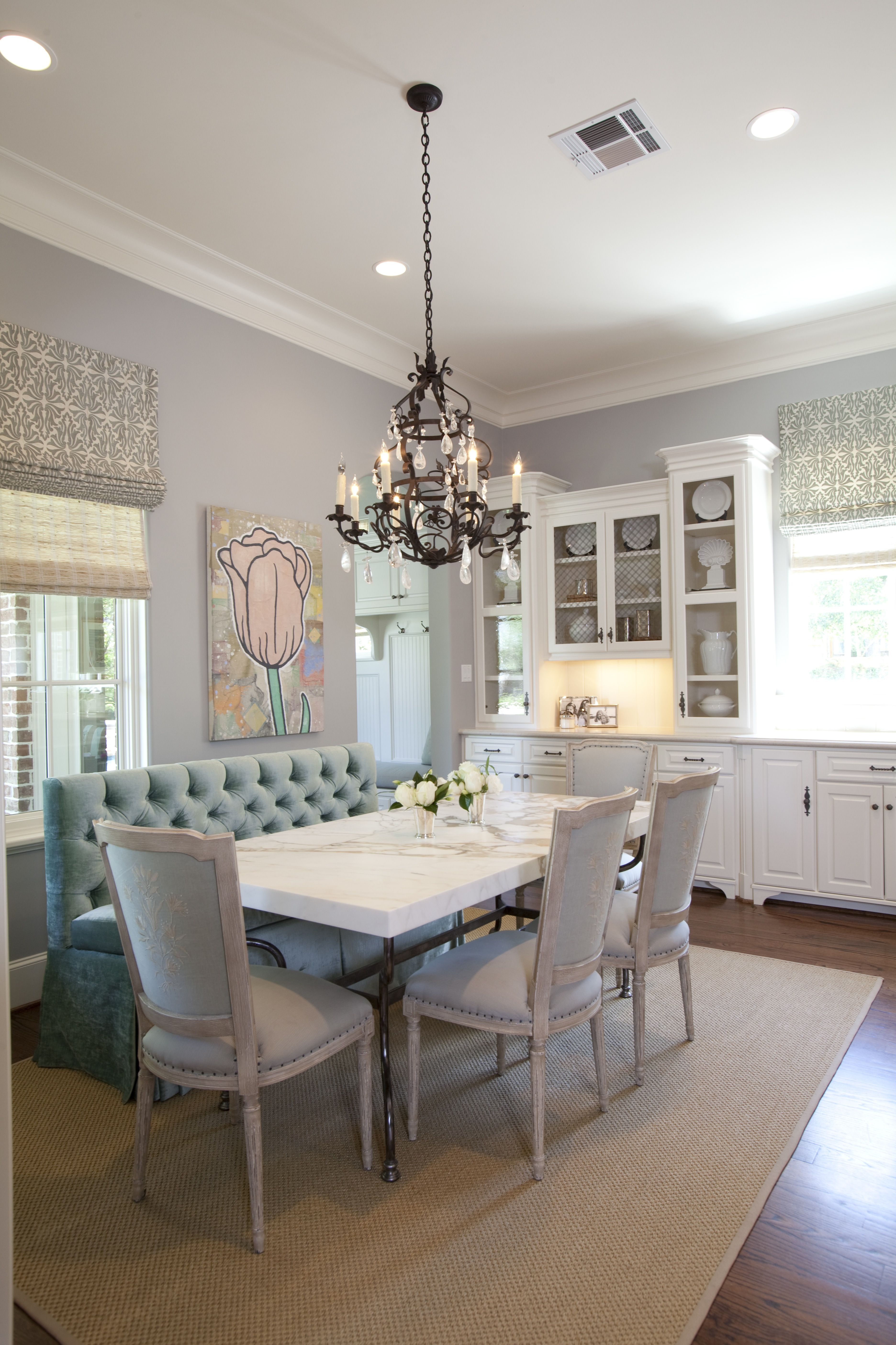 15 Dining Spaces With Banquette Bench Seating Dining Room