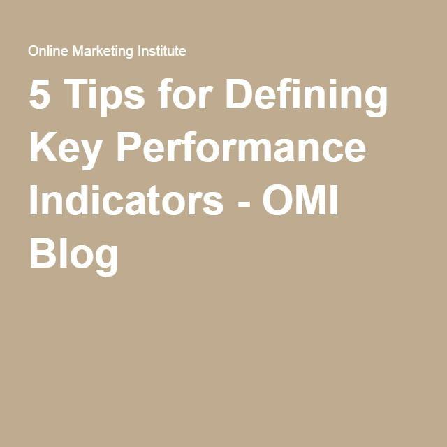5 Tips for Defining Key Performance Indicators - OMI Blog The - define spreadsheet