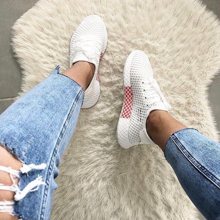 adidas Deerupt in weiß – der perfekte Sommersneaker