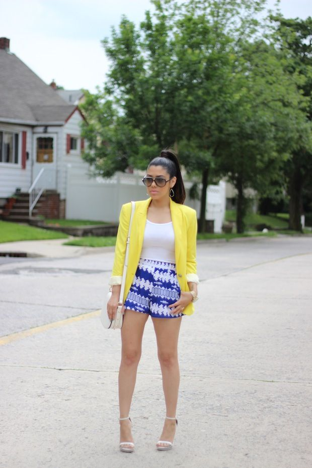 A Love Affair With Fashion : Summer Color Block