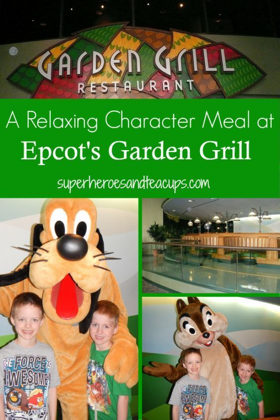 Character Meal bei Epcot's Garden Grill Character Meal bei Epcot's Garden Grill