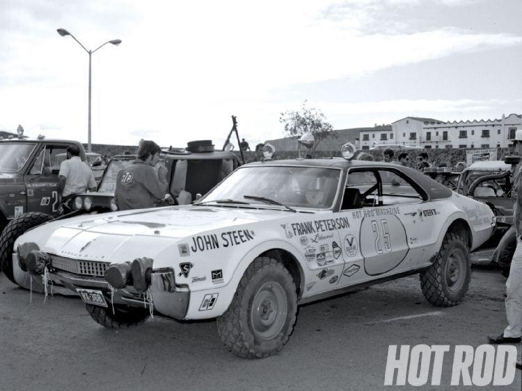 Tom Bush Vw >> Hot Rod - James Garner's 1970 Oldsmobile 442 Baja Race Car ...