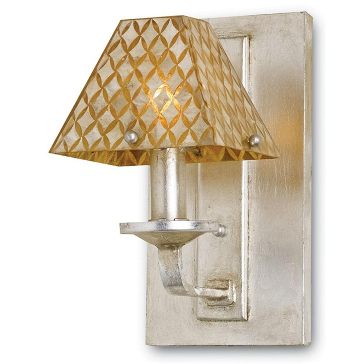 Iron and capiz shell wall sconce lighting pinterest decorative