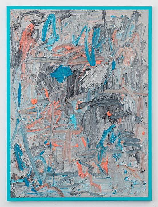 "eccontemporary: "" Russell Tyler, FTW, 2015, oil on canvas, 101,6 x 76,2 cm http://www.dennygallery.com/ """