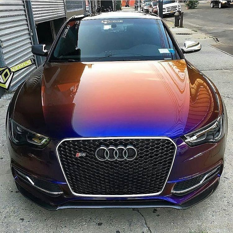 Tuned Audi Rs5: Audi RS5 Tuning Mirror Ultramarine