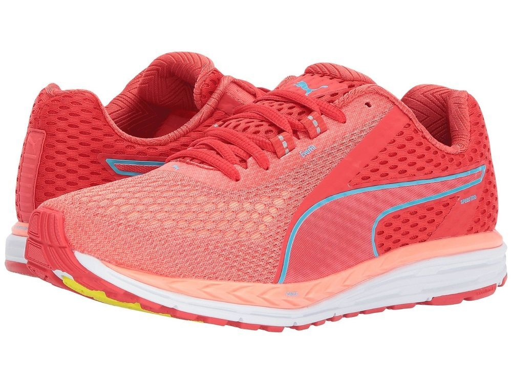 ccb49346710 New Puma Speed 500 Ignite 2 Poppy Red Women s Running Shoes US 9 EUR 40 cm