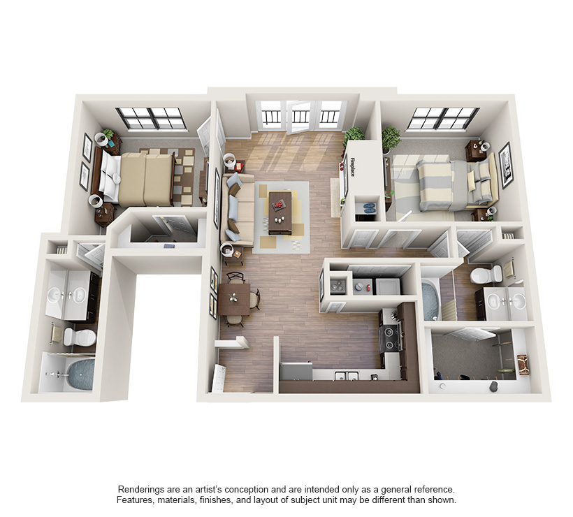 One and Two Bedroom Apartments in Oklahoma City, OK