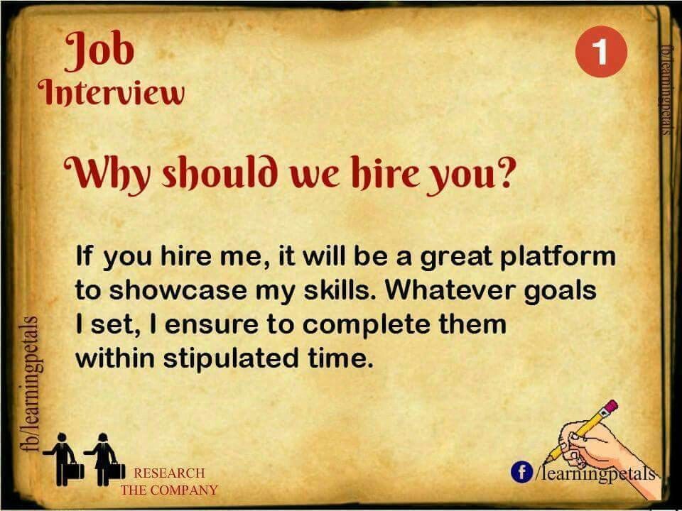 Answers to the most common job interview questions! Cool Stuff - president job description