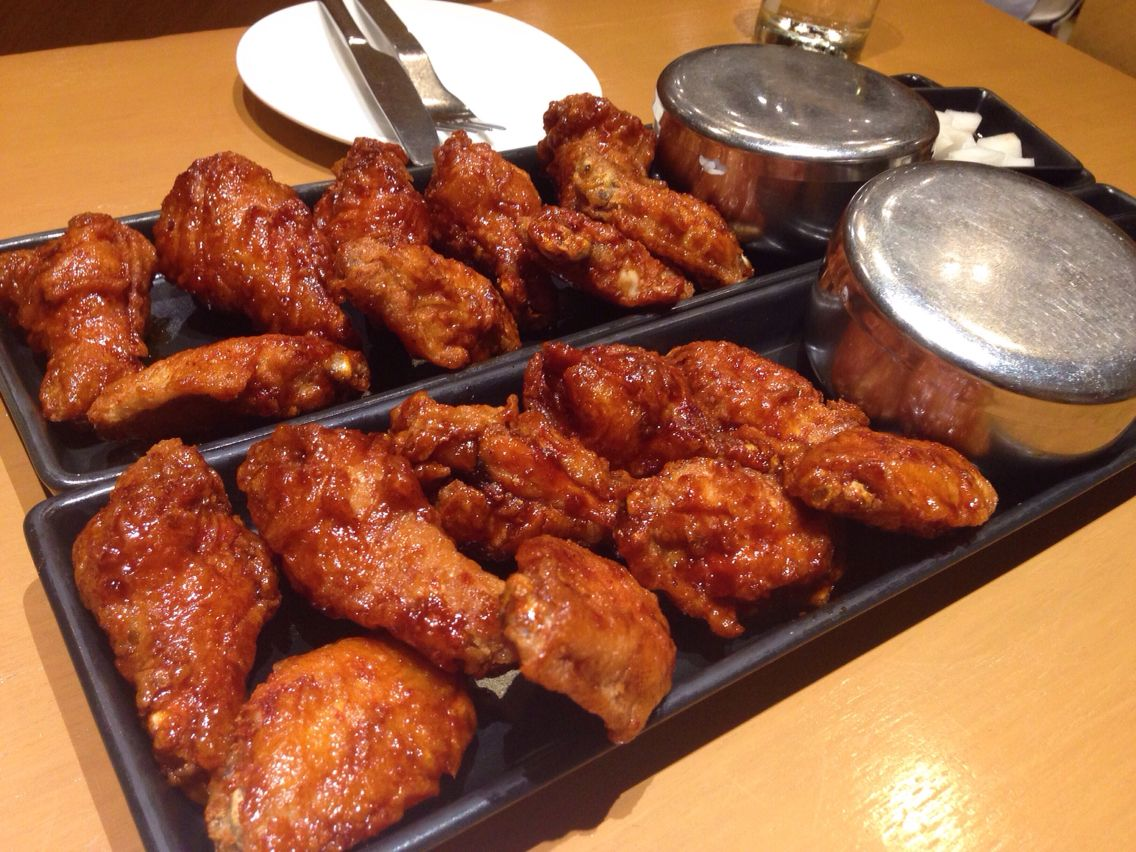 bonchon chicken siam center in thailand want some pinterest