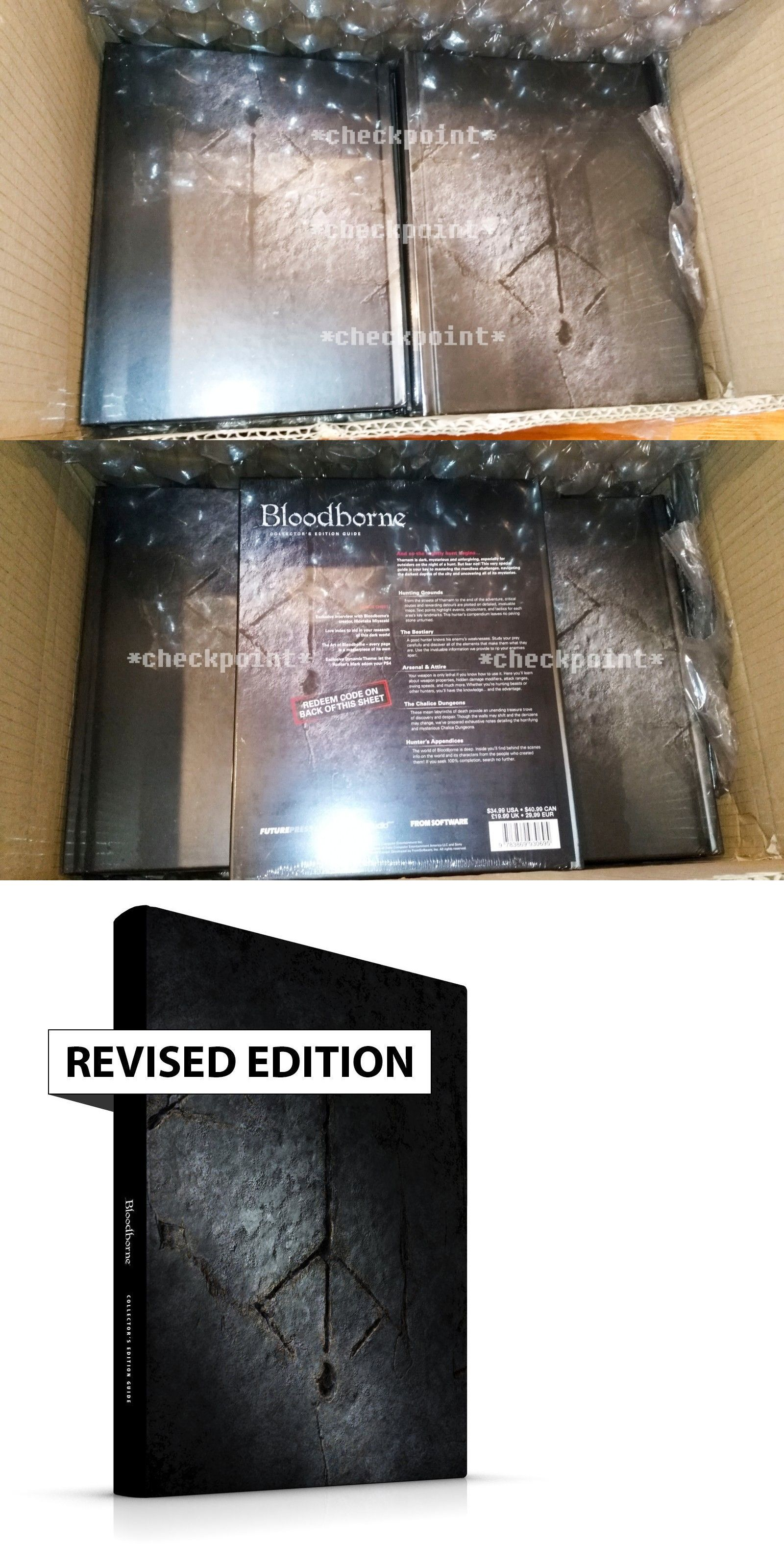 Strategy Guides And Cheats 156595 New Bloodborne Collector S Edition Strategy Guide Hardcover Updated Edition Buy It With Images Bloodborne Coding Games Strategies