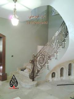 F ارت فورجلي بوابات جرار ومجموعة من هندريل السلالم Stairs Home Home Decor