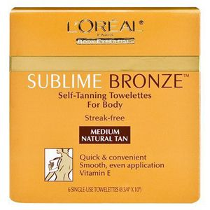 LOreal Sublime Bronze Self-Tanning Towelettes - Love this stuff!