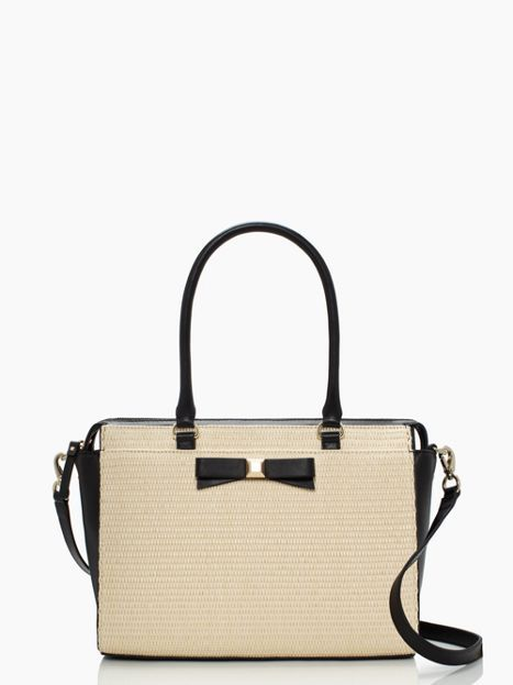 kate spade holly street straw jeanne // perfect spring/summer bag! #purse #handbag #summer durupaper.com #kate_spade