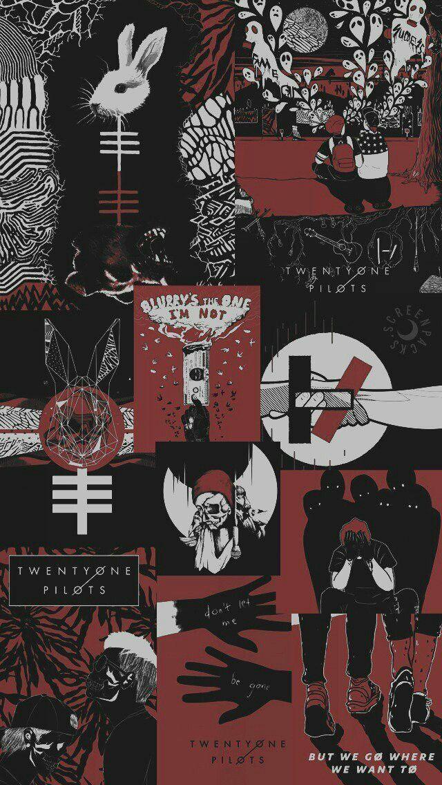 Pin by Biso0n on 12 Twenty one pilots wallpaper, Emo