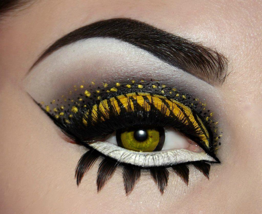 Image result for hufflepuff makeup