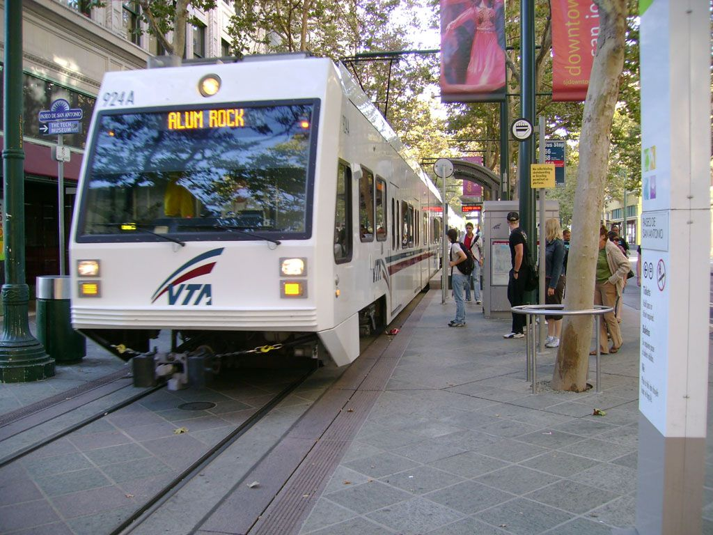 Awesome VTA Offers More Than 42.2 Miles Of Light Rail Service Through The Cities Of San  Jose Nice Look