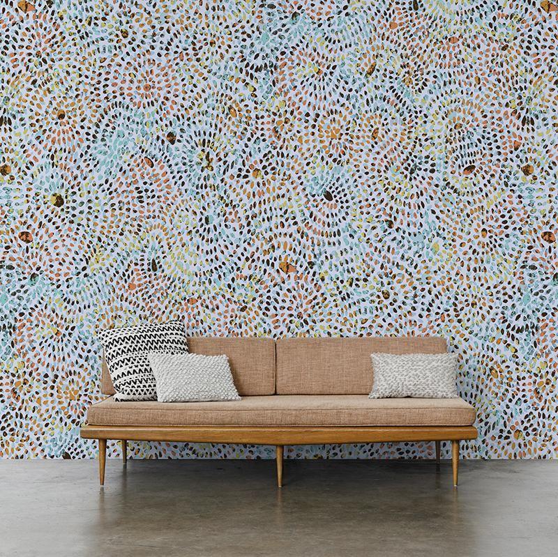 Firecracker Wallpaper Removable wallpaper, Geometric