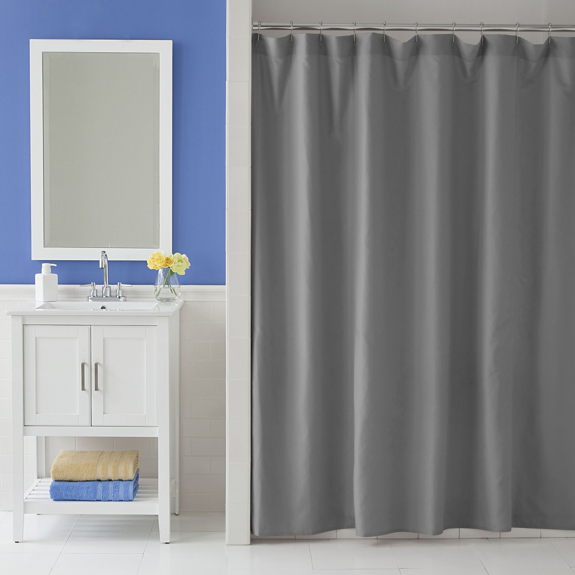 Odelia Martex Single Shower Curtain Products Curtains Shower