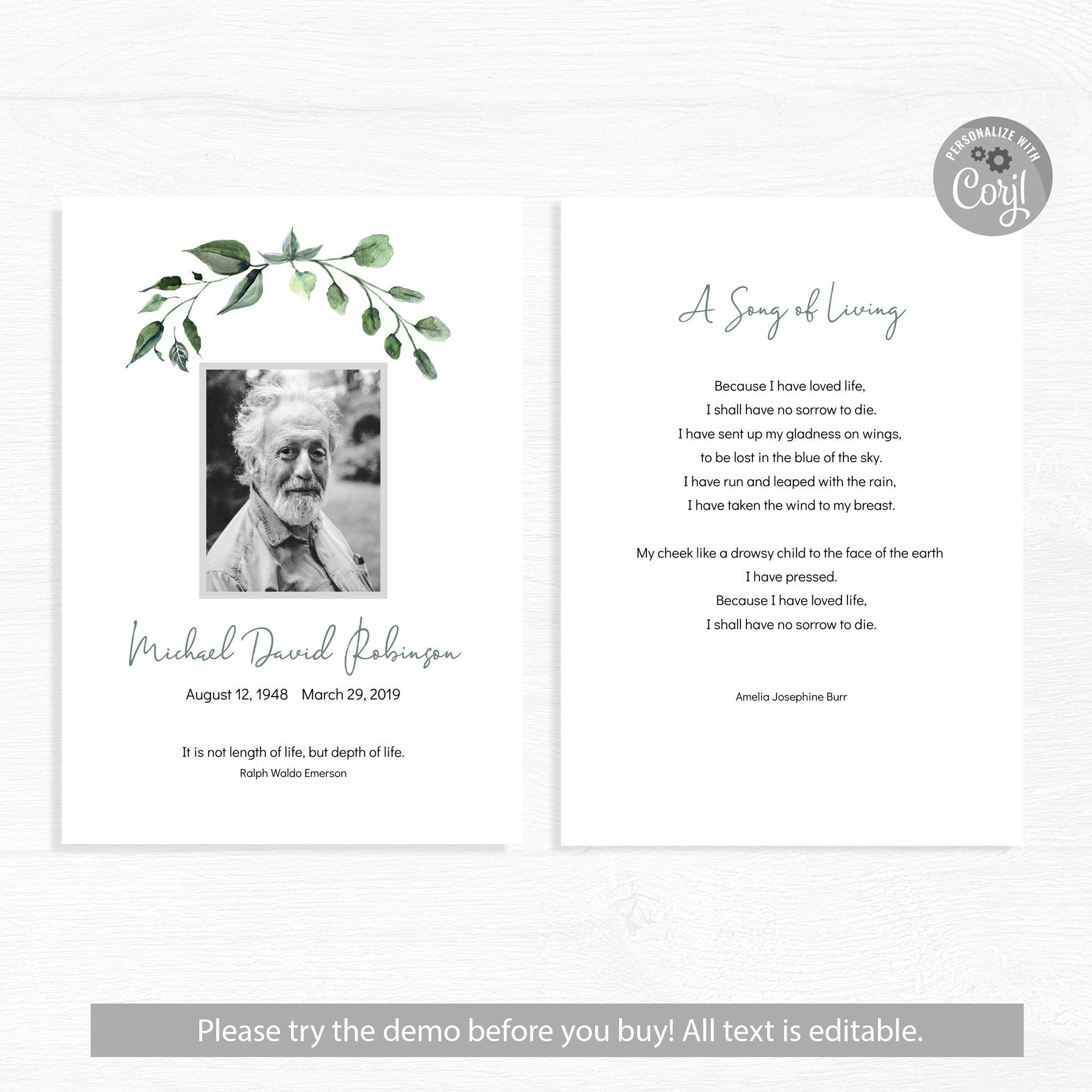 The Mesmerizing Funeral Card Template Word Program Psd Doc Publisher With Memorial Card Template Wor Funeral Cards Funeral Program Template Card Templates Free