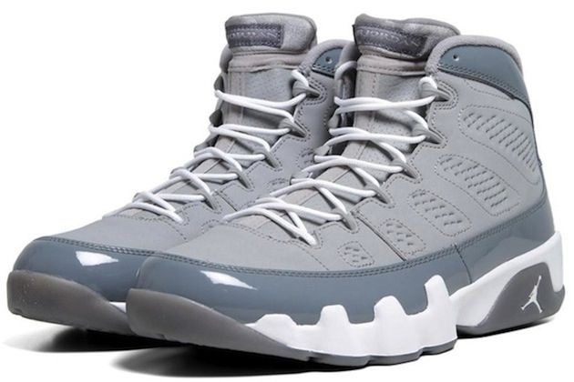 the best attitude 2955c 65ac8 Air Jordan 9 Retro  Cool Grey