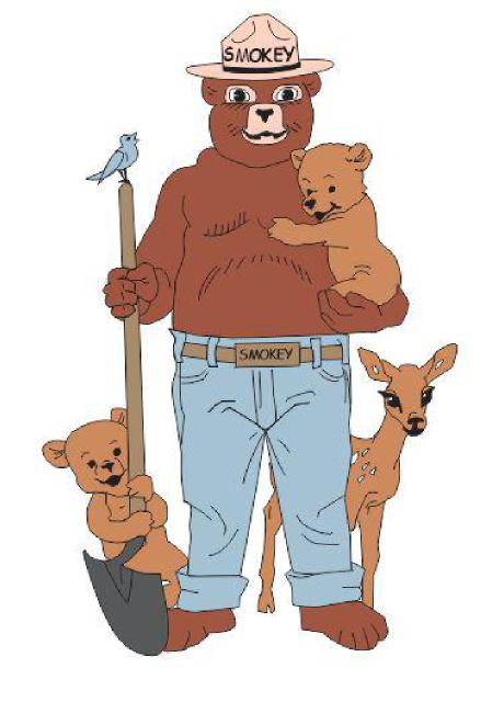 Our Newest Smokey Bear Items Smokey Cubs Pin Smokey The Bears Smokey Bear