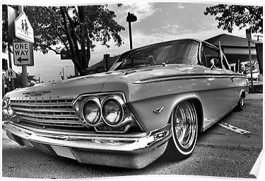 'Impala Lowrider ' Poster by EHDesign