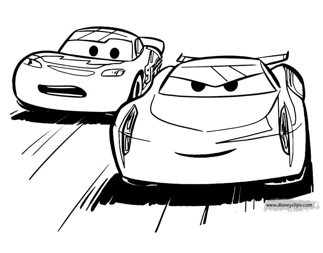 Lightningmcqueen And Jacksonstorm From Cars 3 In 2020 Toy